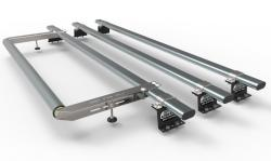 3 Bar with rear roller kit- MAXUS Aero-Tech Transit Custom Roof rack (AT86+A30)