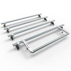 Nissan NV300 Aero-Tech 4 bar roof rack - rear roller (AT116+A30)