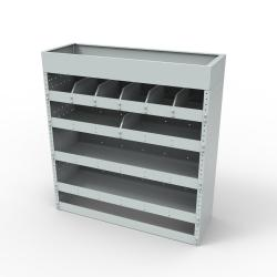 Steel modular van racking - Unit SBR10