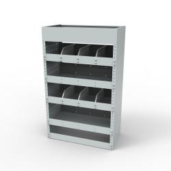 Steel modular van racking - Unit SBR14