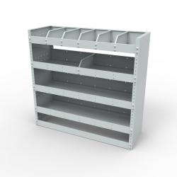 Steel modular van racking - Unit SBR9