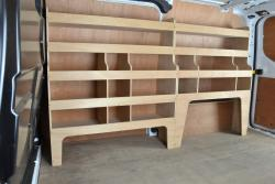 Transit Custom Plywood Offside van racking / Shelving unit - WRK41.55