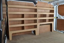 Transit Custom Plywood Offside van racking / Shelving unit - WRK47.53