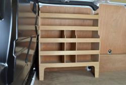 Transit Custom Plywood van racking / Shelving unit - WR55