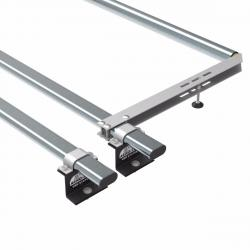 Transit roof rack bars - 2 bar + roller 2014 onwards (AT123+A30)