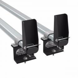 Transit roof rack bars - 2 bar with load stops 2014 onwards (AT123LS)