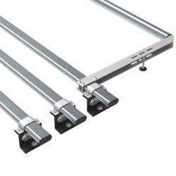 Transit roof rack bars - 3 bar + roller 2014 onwards (AT124+A30)