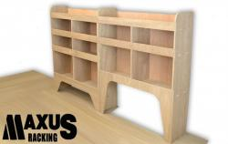 Universal Plywood Van Shelving Package - WRK1.3