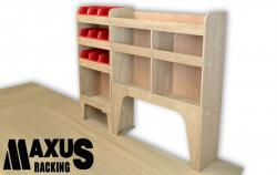 Universal Plywood Van Shelving Package - WRK1.6