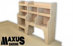 Universal Plywood Van Shelving Package - WRK9.7