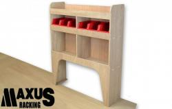 Universal Plywood van shelving unit - WR2