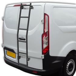 Van rear door ladder - MAXUS 6 rung in black