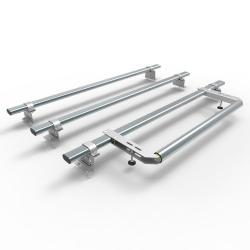 Vauxhall Combo L1 Aero-Tech 3 bar roof rack - rear roller 2012 onwards model (AT102+A30)