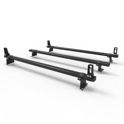 Aluminium Fiat Doblo Roof Rack Dmar Stealth 3 bar Load Stops 2010 on model (DM502LS)