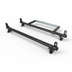 Aluminium Nissan NV200 Roof Rack Dmar Stealth 2 bar with load stops and roller (DM58LS+A30)