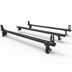 Citroen Berlingo 2008 - 2018 Dmar Stealth 3 bar Load Stops Aluminium roof rack (DM65LS)