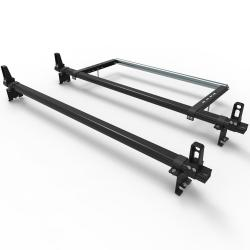 Citroen Dispatch (2007-2016) Dmar Stealth 2 bar Load Stops and Rear Roller Aluminium roof rack
