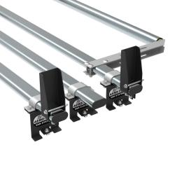 Citroen Dispatch Aero-Tech 3 bar roof rack system with load stops and rear roller (AT113LS+A30)