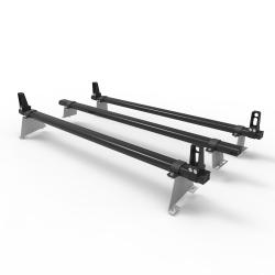Citroen Nemo Dmar Stealth 3 bar Load Stops Aluminium roof rack (DM62LS)