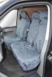 Single seat cover DARK GREY (A5)