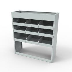 Steel modular van racking / Shelving  - Unit SBR5 (SBR 5)