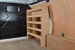 Transit Custom Plywood van racking / Shelving unit - WR47