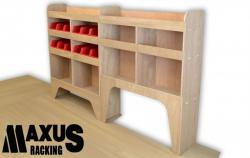 Universal Plywood Van Shelving Package - WRK1.4