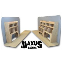 Universal Plywood Van Shelving Package - WRK1.9.11
