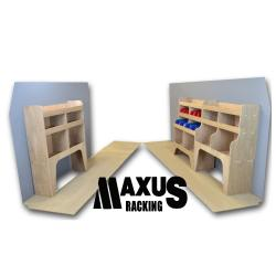 Universal Plywood Van Shelving Package - WRK1.9.12