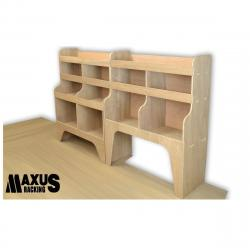 Universal Plywood Van Shelving Package - WRK9.11