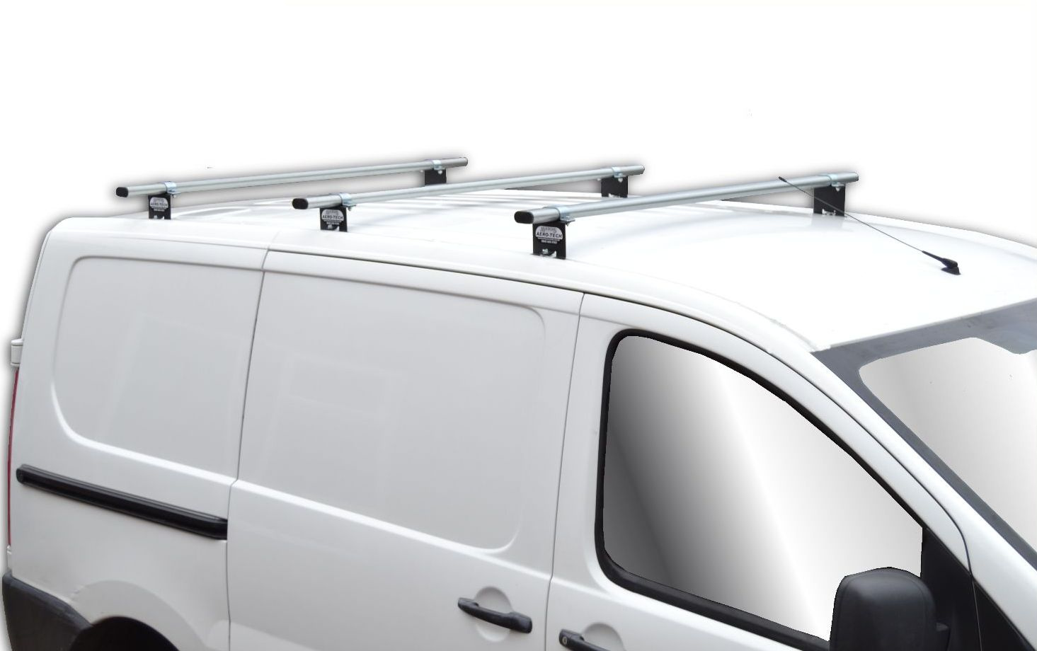 Citroen Dispatch Aero Tech 3 Bar Roof Rack System At113